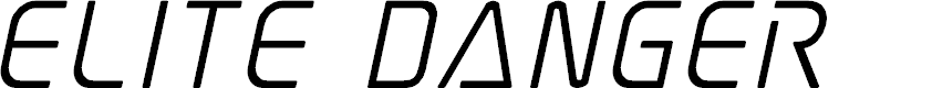 Preview image for Elite Danger Semi-Bold Italic