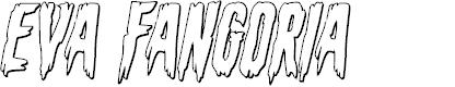 Preview image for Eva Fangoria Outline Italic