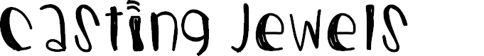 Preview image for CastingJewels Font