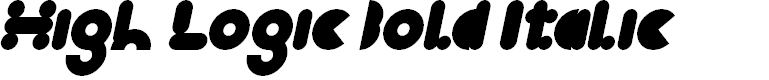Preview image for High Logic Bold Italic