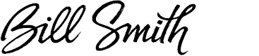 Preview image for Bill Smith Font