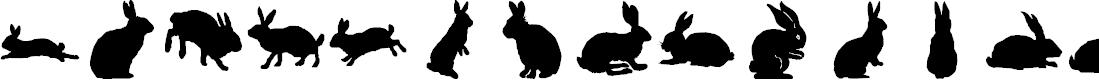 Preview image for lprabbits1 Font