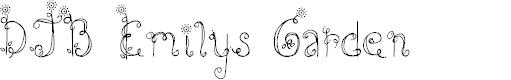 Preview image for DJB Emilys Garden Font