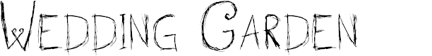 Preview image for Wedding Garden Font
