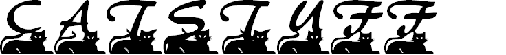 Preview image for Catstuff Font
