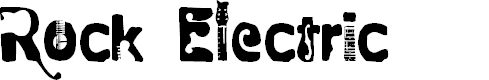 Preview image for Rock  electric Font