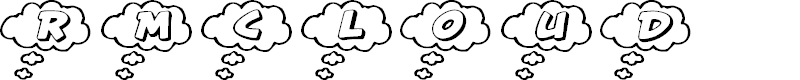 Preview image for RMCloud Font