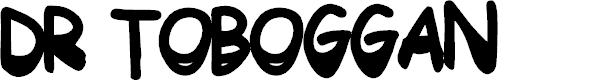 Preview image for DrToboggan Font