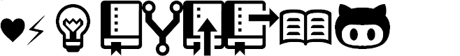 Preview image for octicons Font