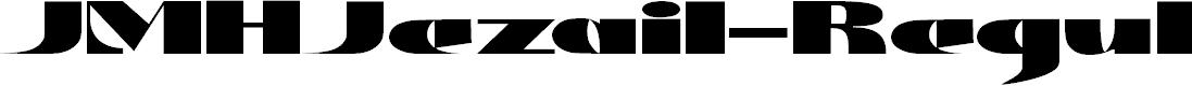Preview image for JMHJezail-Regular Font
