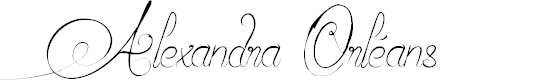 Preview image for Alexandra Orléans Font