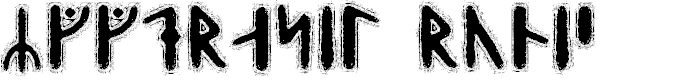 Preview image for Yggdrasil Runic Font