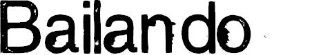 Preview image for Bailando Font