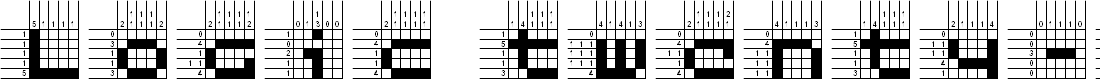 Preview image for Logic twenty-five A Font