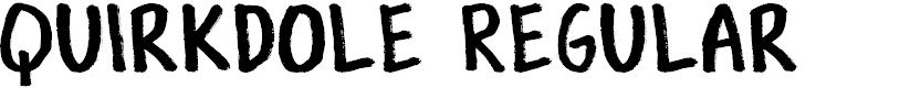 Preview image for Quirkdole Regular Font