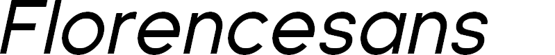 Preview image for Florencesans Italic