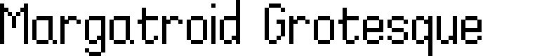 Preview image for Margatroid Grotesque Font