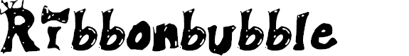 Preview image for Ribbonbubble Font