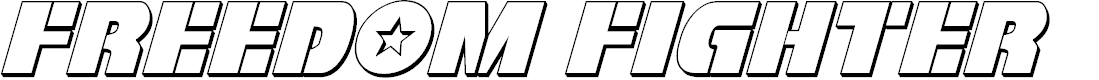 Preview image for Freedom Fighter 3D Italic