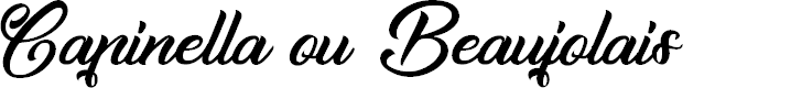 Preview image for Capinella ou Beaujolais Font