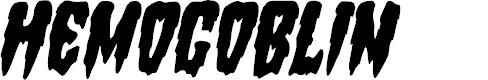 Preview image for Hemogoblin Condensed Italic