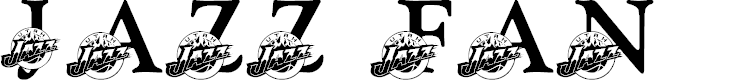 Preview image for LMS Jazz Fan Font