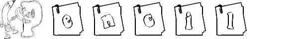 Preview image for KG PENCIL Font