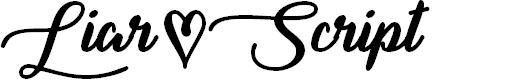 Preview image for Liar Script Font