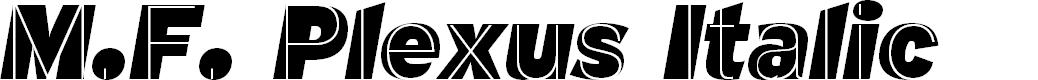 Preview image for M.F. Plexus Italic