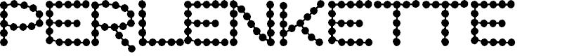 Preview image for Perlenkette Font