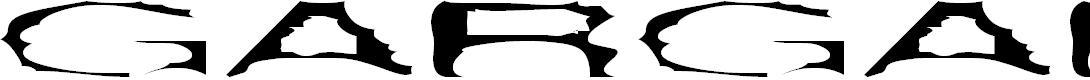 Preview image for Gargantua Plain Font