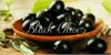 Black Olives Font bowl food