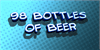 98 Bottles of Beer Font logo design
