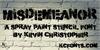 Misdemeanor Font drawing handwriting