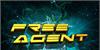 Free Agent Font screenshot yellow