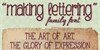 Making Lettering_DEMO Font text book