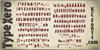 Type Xero Font handwriting text