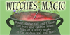 Witches Magic Font handwriting cup