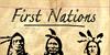 First Nation Font text cartoon