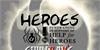 HEROES Font screenshot design