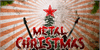 Metal Christmas Personal USE Font christmas tree red