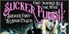 Sucker Font text poster