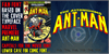 THE ASTONISHING ANT-MAN Font text poster