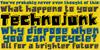 DK Technojunk Font text design