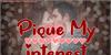 Pique My Interest Font kiss love