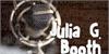 JuliaGBooth Font metalware design