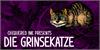 Die Grinsekatze Font cartoon cat