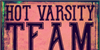 Hot Varsity Team DEMO Font poster typography