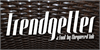 Trendgetter Font basket container