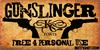 Gunslinger Font poster book